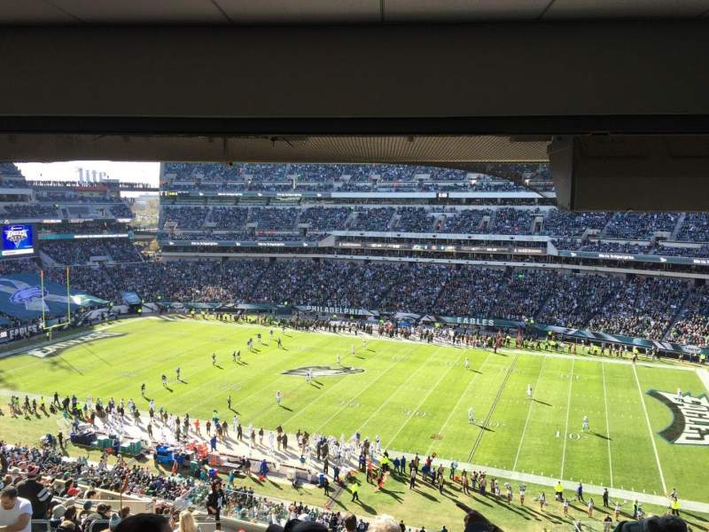 Seating view for Lincoln Financial Field Section CS111