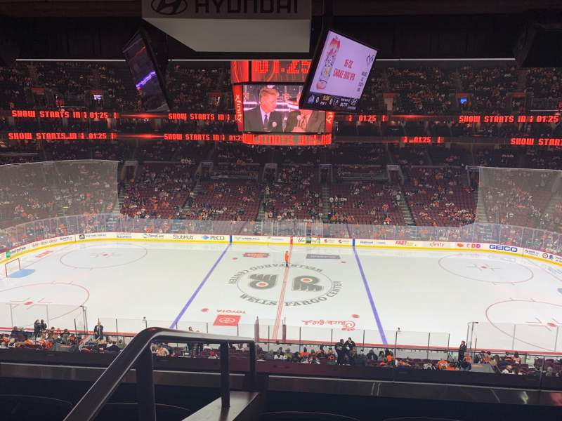 Seating view for Wells Fargo Center Section Suite 41