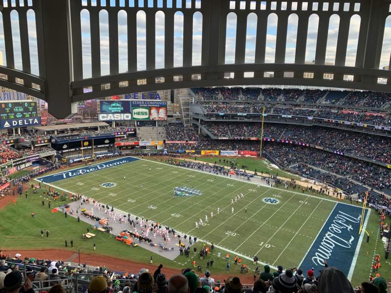 Seating view for Yankee Stadium Section 426 Row 14 Seat 19