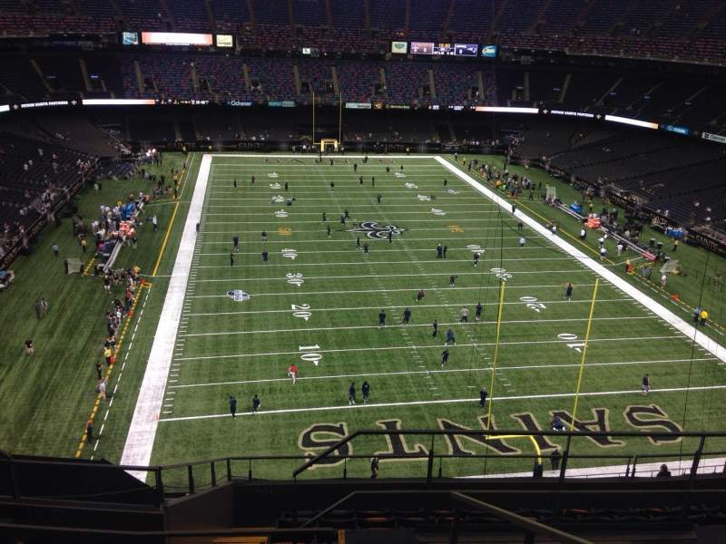 Mercedes-Benz Superdome, section: 603, row: 7, seat: 7
