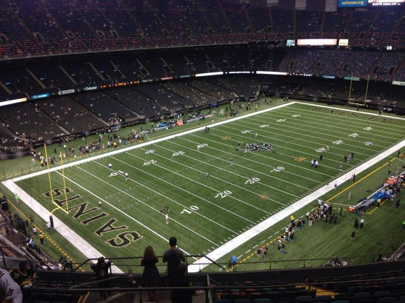 Seating view for Mercedes-Benz Superdome Section 621 Row 17 Seat 17