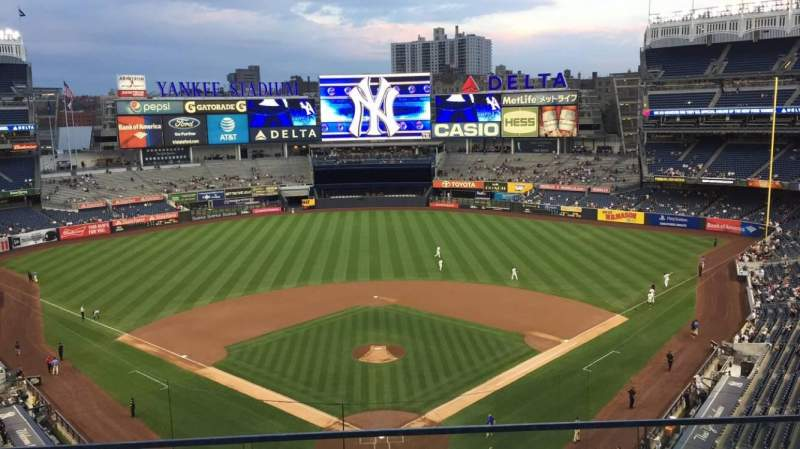 Seating view for Yankee Stadium Section 320B Row 2 Seat 9
