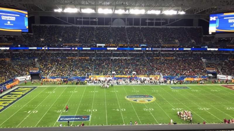 Hard Rock Stadium, section: 347, row: 1, seat: 20