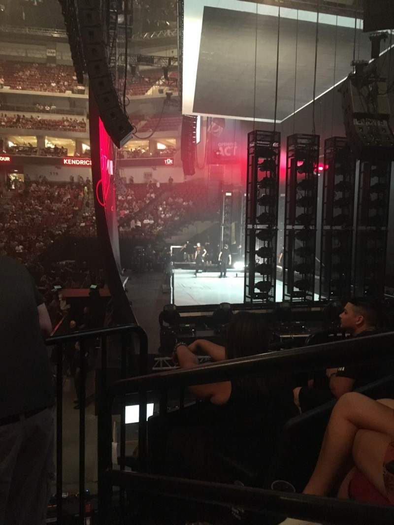 Pinnacle Bank Arena, section: 104, row: 13, seat: 1