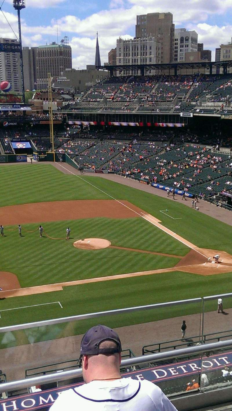 Seating view for Comerica Park Section 334 Row C Seat 5