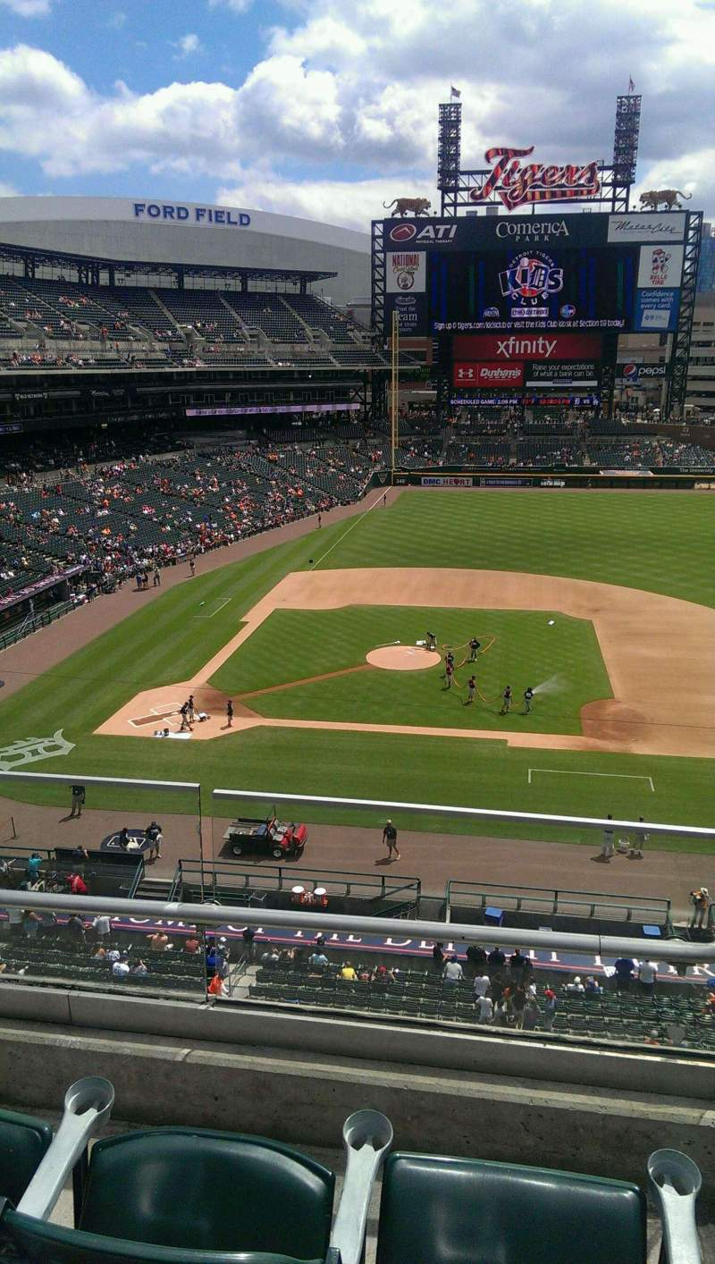 Seating view for Comerica Park Section 322 Row C Seat 3