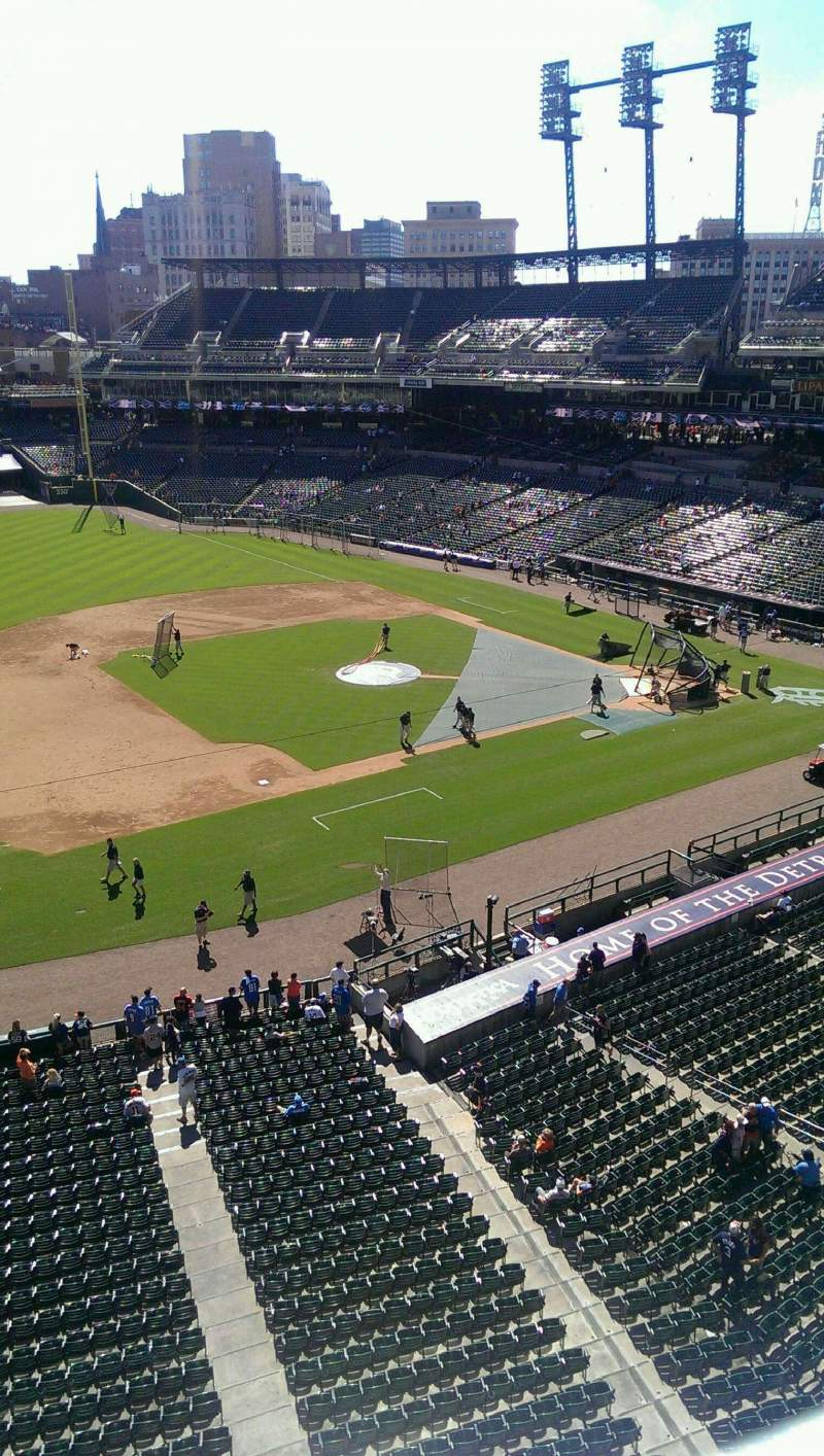 Seating view for Comerica Park Section 337 Row A Seat 5