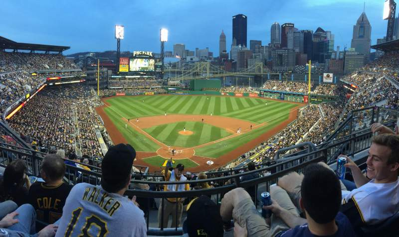 Seating view for PNC Park Section 315 Row K Seat 11