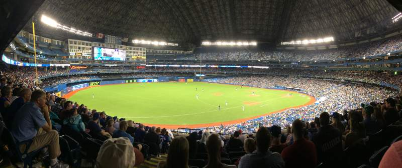 Seating view for Rogers Centre Section 234R Row 9 Seat 2