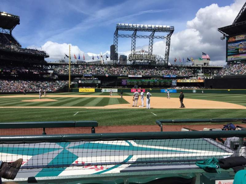 Seating view for Safeco Field Section 122 Row 7 Seat 2