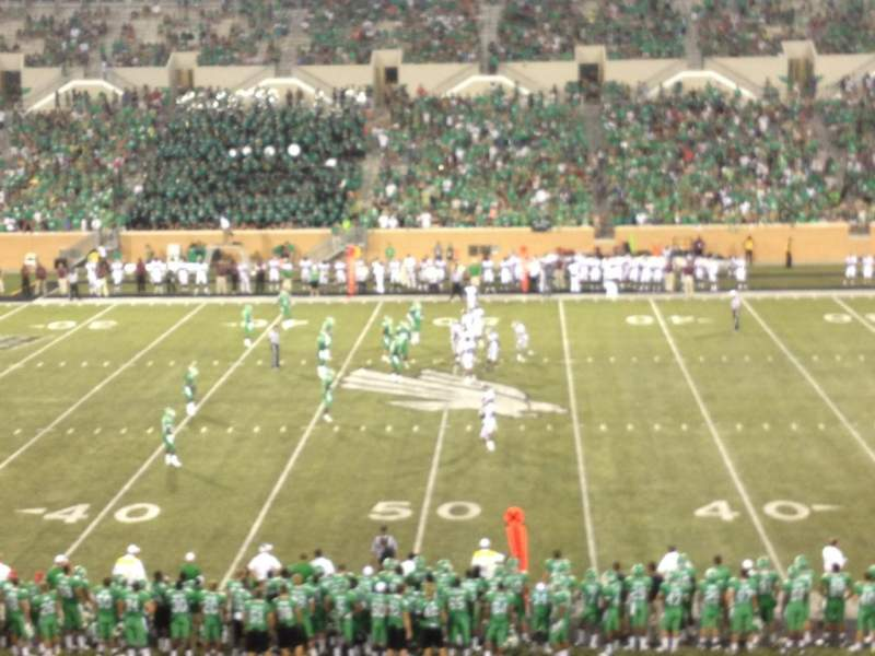 Seating view for Apogee Stadium Section 206 Row 13 Seat 24