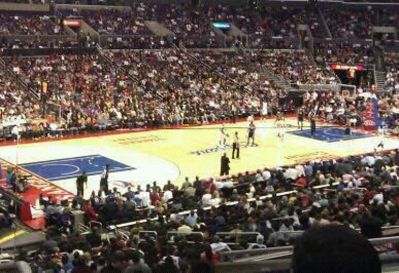 Seating view for Staples Center Section pr8