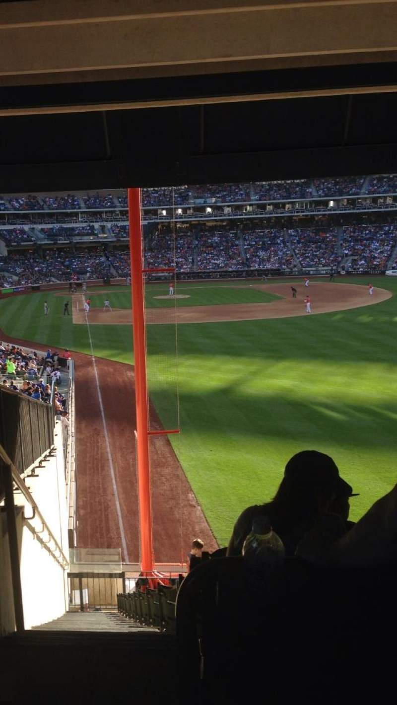 Seating view for Citi Field Section 102