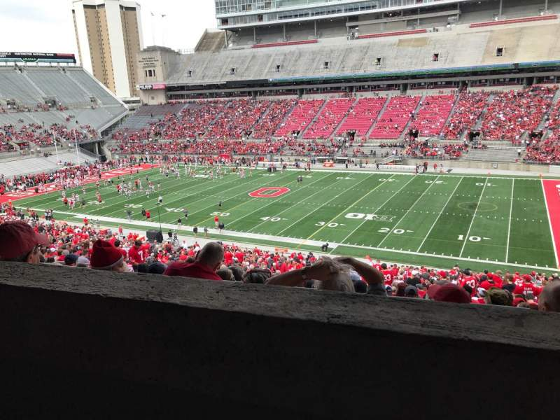 Ohio Stadium, section: 14b, row: 2, seat: 28