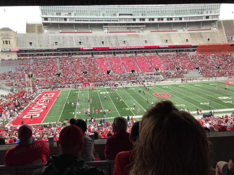 Seating view for Ohio Stadium Section 22B Row 5 Seat 2