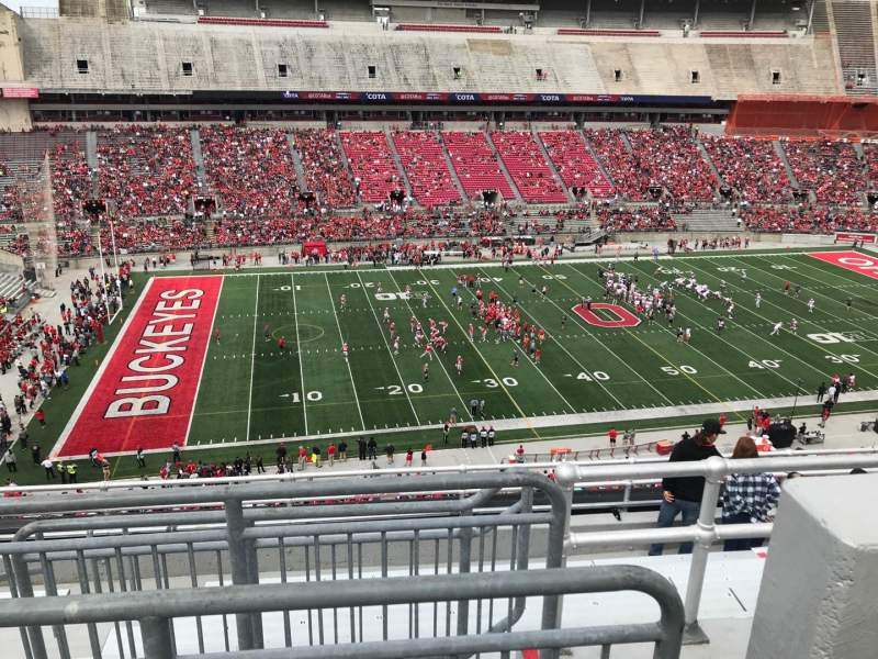 Seating view for Ohio Stadium Section 26c Row 9 Seat 13