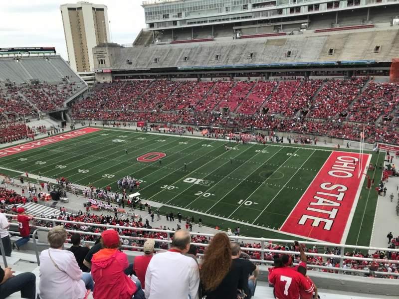 Ohio Stadium, section: 14c, row: 9, seat: 22