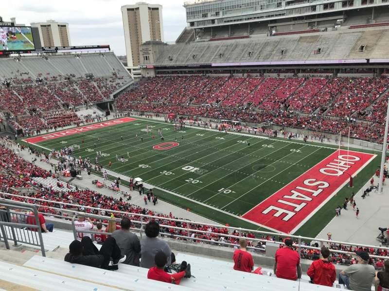 Ohio Stadium, section: 14c, row: 11, seat: 23