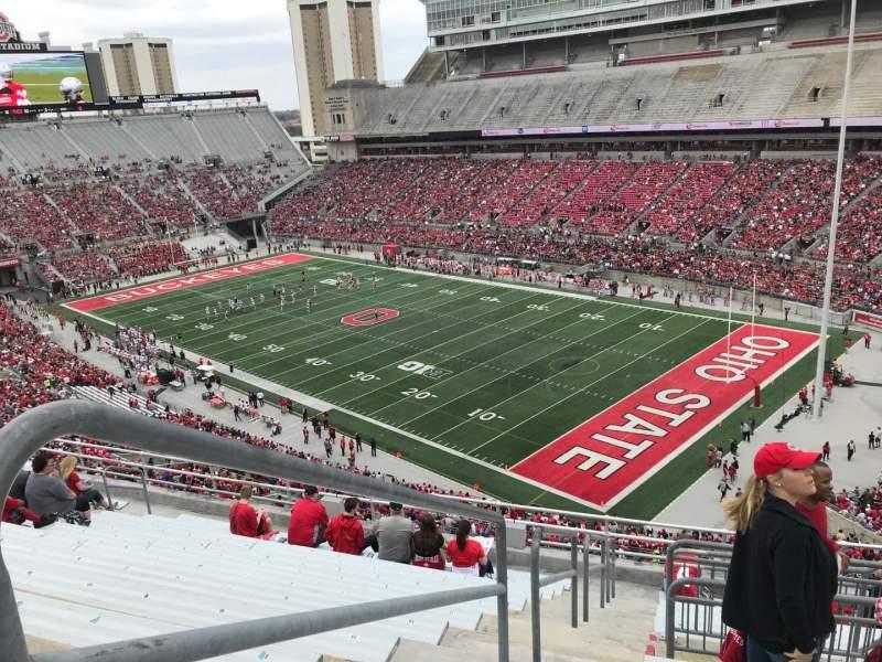 Ohio Stadium, section: 14c, row: 13, seat: 15