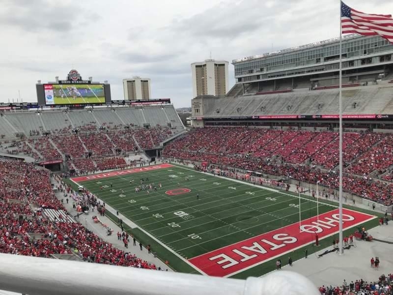 Ohio Stadium, section: 10c, row: 11, seat: 5