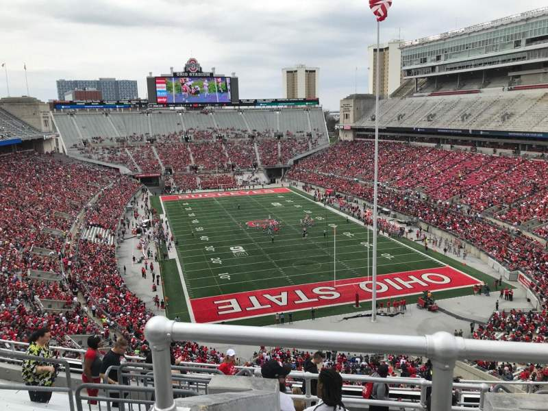 Seating View For Ohio Stadium Section 6c Row 12 Seat 8
