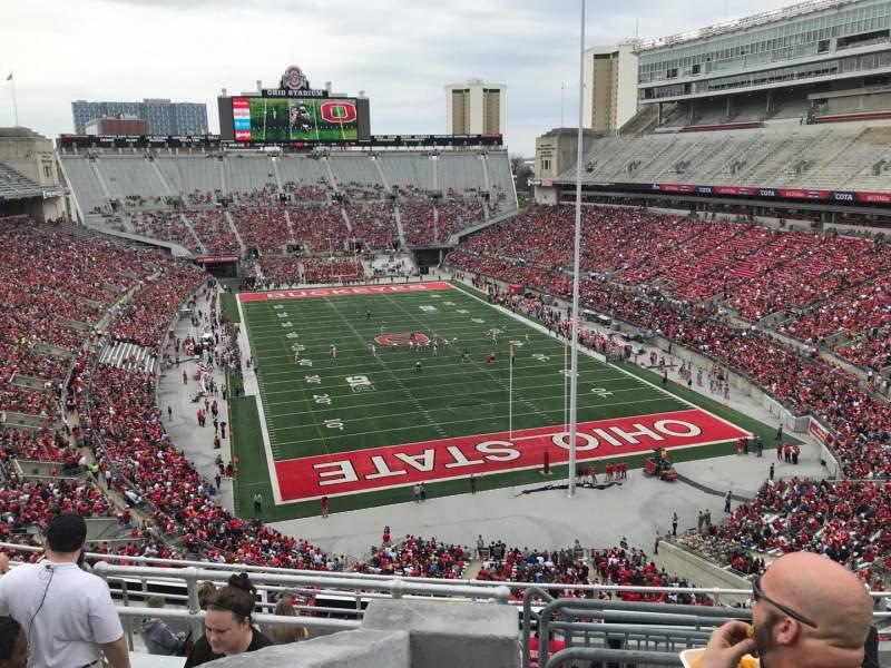 Ohio Stadium, section: 6c, row: 11, seat: 4