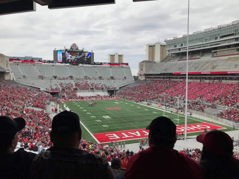 Seating view for Ohio Stadium Section 4b Row 3 Seat 2