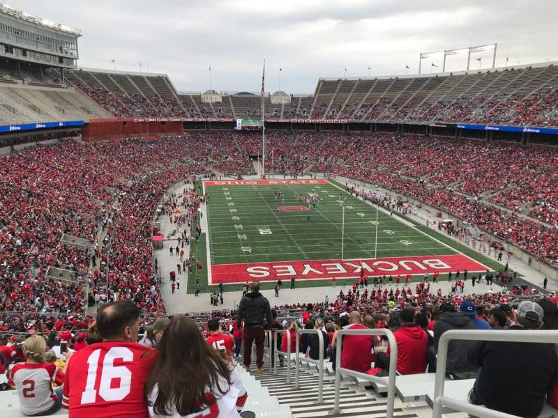 Seating view for Ohio Stadium Section 35b Row 30 Seat 2
