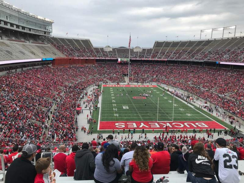 Ohio Stadium, section: 37b, row: 30, seat: 31