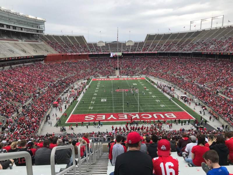 Seating view for Ohio Stadium Section 39b Row 29 Seat 34