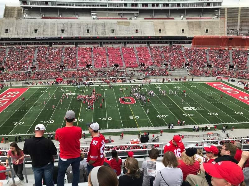 Ohio Stadium, section: 22c, row: 10, seat: 30