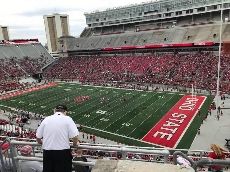 Ohio Stadium, section: 14c, row: 9, seat: 5