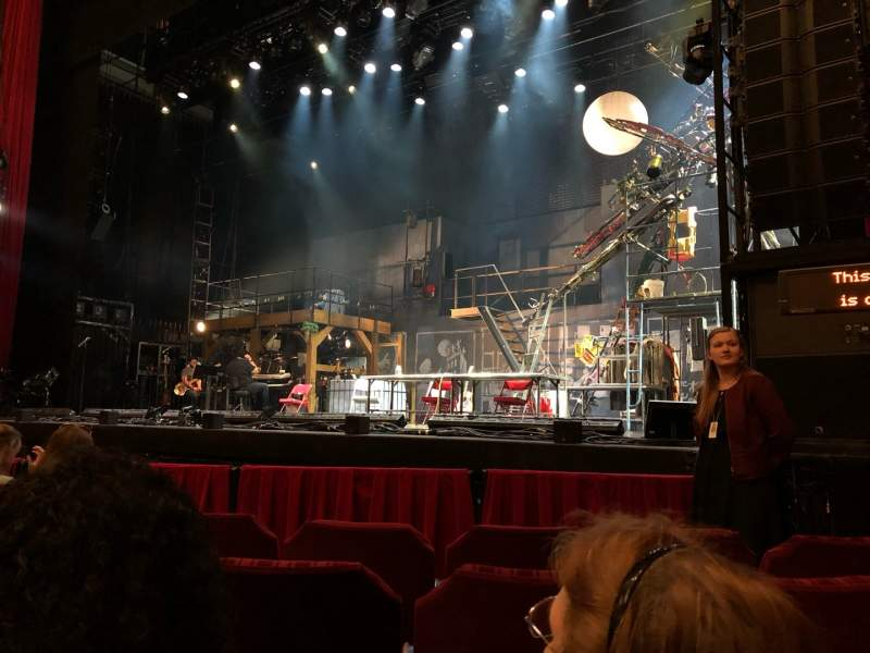 Seating view for Nederlander Theatre (Chicago) Section ORCH-R Row E Seat 12