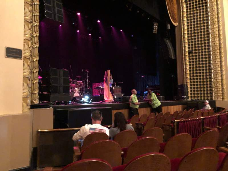 Seating view for Pabst Theater Section LT Row E Seat 1