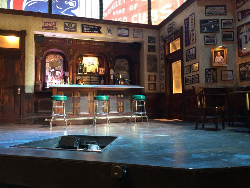 Seating view for Royal George TheatreRow B Seat 9
