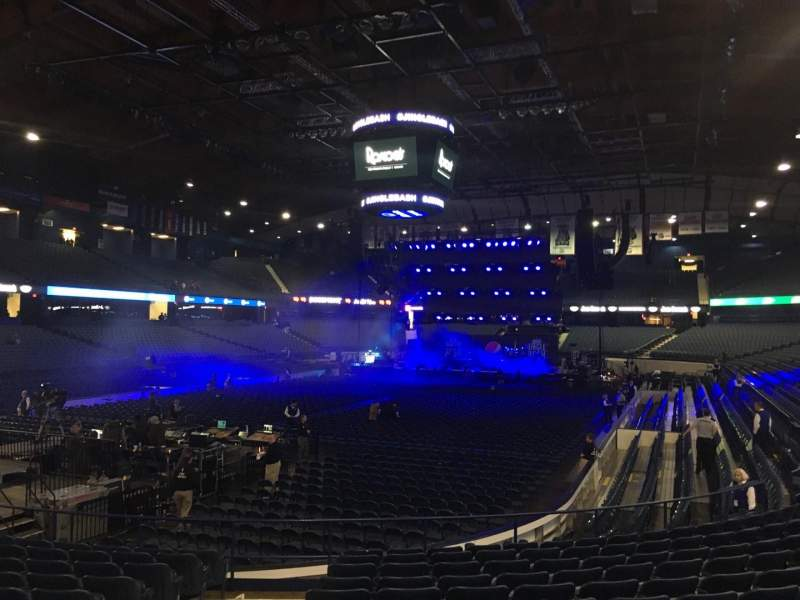 Seating view for Allstate Arena Section 113 Row M Seat 29