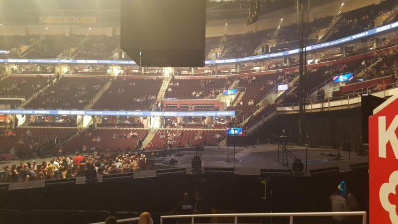 Seating view for Quicken Loans Arena Section 111 Row 11 Seat 16