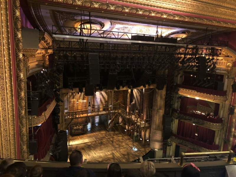Seating view for CIBC Theatre Section Balcony LC Row D Seat 09
