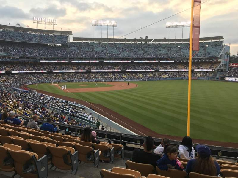 Dodger Stadium, section: 164LG, row: H, seat: 3