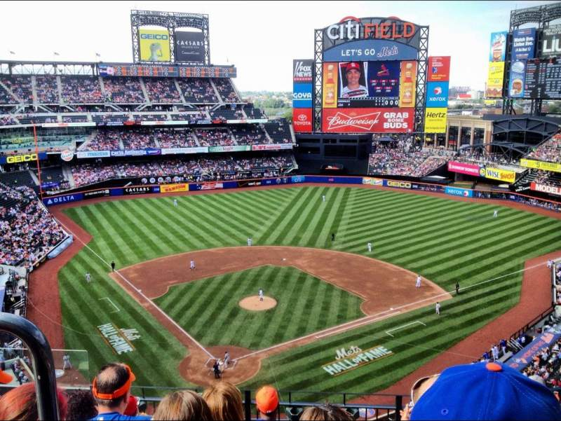 Seating view for Citi Field Section 512 Row 6 Seat 5