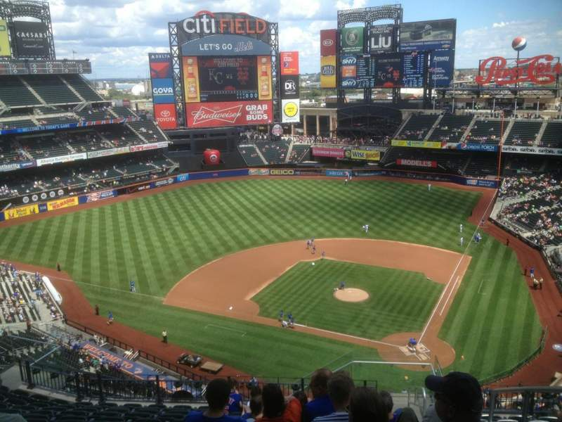 Seating view for Citi Field Section 518 Row 12 Seat 02