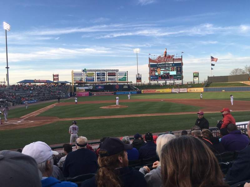 Seating view for Coca-Cola Park Section 108 Row M Seat 5