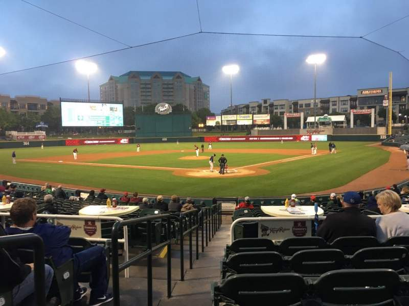 Seating view for Dr Pepper Ballpark Section 113 Row 18 Seat 12