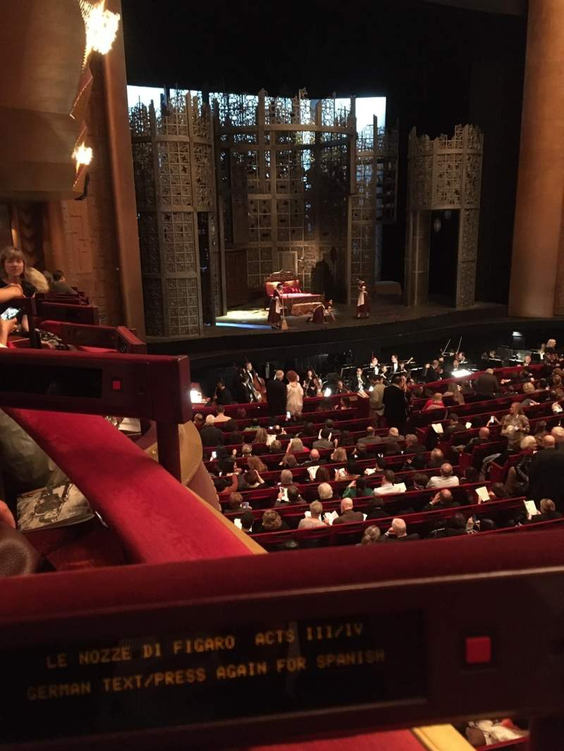 Seating view for Metropolitan Opera House - Lincoln Center Section Parterre Box 11 Seat 2