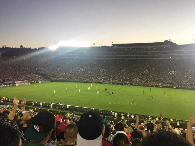 Seating view for Rose Bowl Section 6-L Row 43 Seat 7