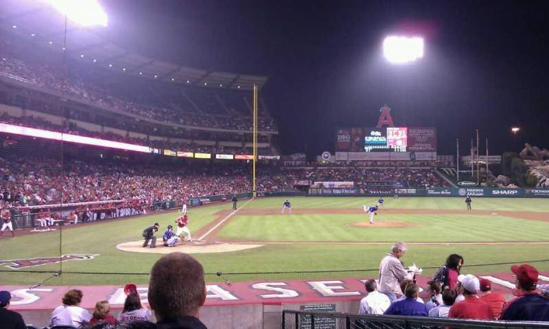 Seating view for Angel Stadium Section F123