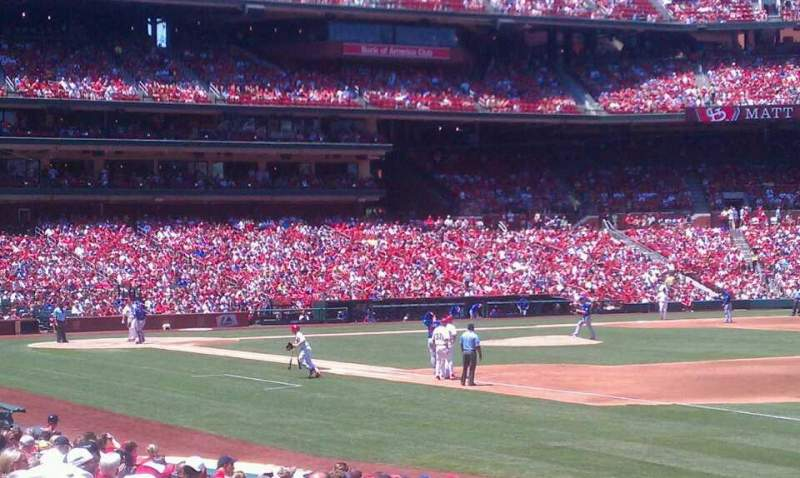 Seating view for Busch Stadium Section 137 Row 7 Seat 12