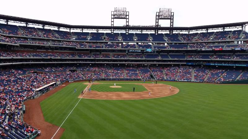 Seating view for Citizens Bank Park Section 204 Row 1 Seat 21