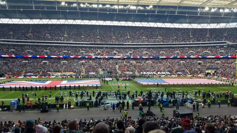 Seating view for Wembley Stadium Section 123 Row 37 Seat 24