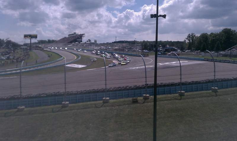 Seating view for Watkins Glen International Section Seneca Grandstand